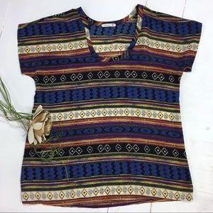 Soprano   southwest blouse   casual thin shirt